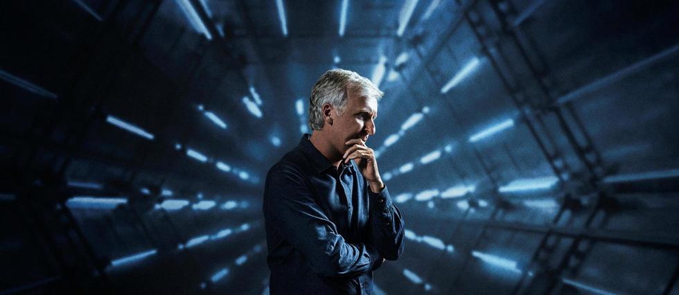 <p>James Cameron est l'animateur d'une série sur l'histoire de la science-fiction.</p>