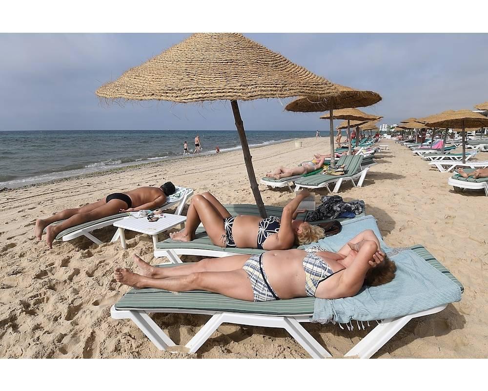 Le all inclusive occupe une place importante dans les entrées de touristes en Tunisie. ©  FETHI BELAID / AFP