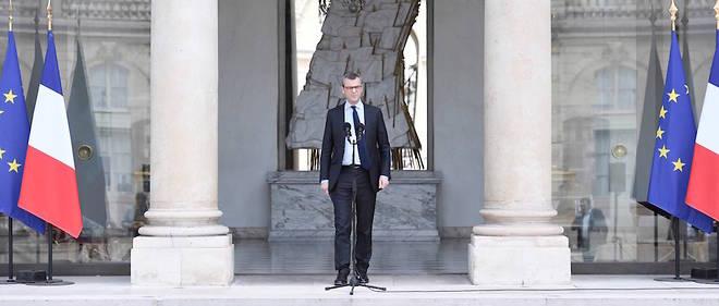 Le 15 mai 2017, Alexis Kohler annonce la nomination d'Édouard Philippe à Matignon.