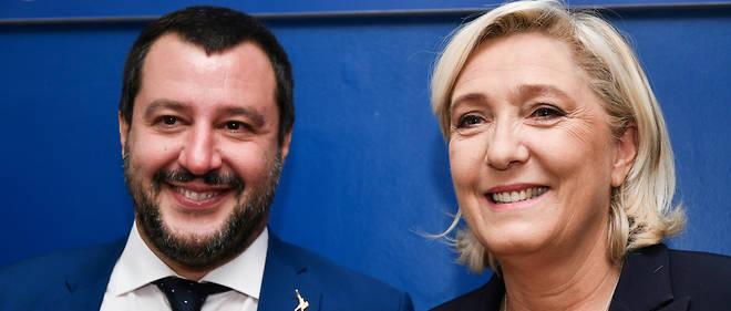 Marine Le Pen espère, avec son allié Matteo Salvini, obtenir suffisamment de voix pour renverser les équilibres au Parlement européen.