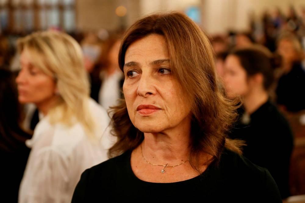 Aliza Bin-Noun, ambassadeur d'Israël.  © THOMAS SAMSON THOMAS SAMSON / AFP
