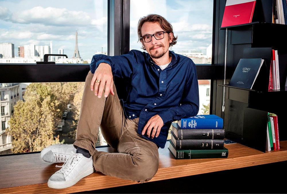 Baladin. Lorànt Deutsch, écrivain et comédien, au «Point», le 21septembre.