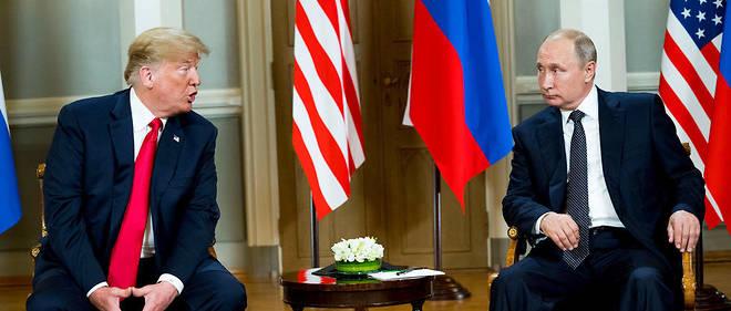 Poutine et Trump le 16 juillet 2018.