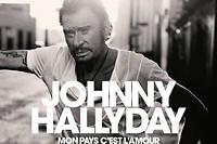 Le dernier album de Johnny Hallyday, baptisé Mon pays c'est l'amour , sort le 19 octobre.  ©DIMITRI COSTE