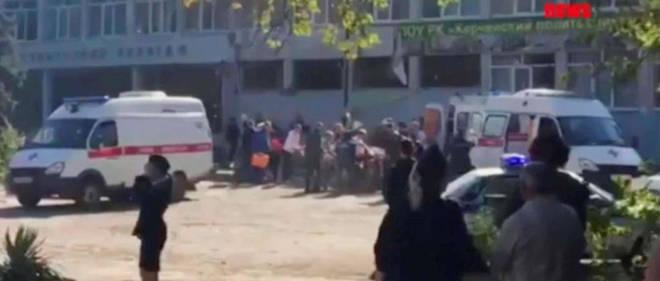 Le bilan provisoire est de 19 morts et une quarantaine de blessés, selon les services de secours locaux.