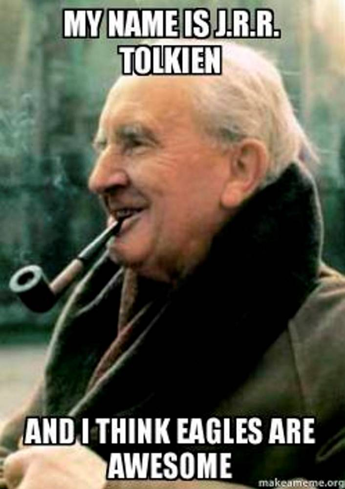 J.R.R Tolkien (Le Seigneur des Anneaux) ©  Libre de droit