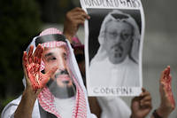 Le journaliste saoudienJamal Khashoggi, ici fin 2014, dérangeait le pouvoir en Arabie saoudite.  ©JIM WATSON