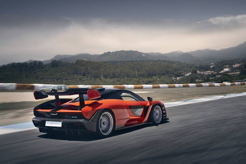 McLaren Senna Global Test Drive - Estoril - June 2018 © Beadyeye McLaren