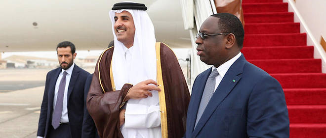 Le Cheikh Tamim Ben Hamad a effectué une visite au Sénégal en décembre 2017, une manière d'exister sur le Continent.