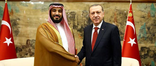 Recep Tayyip Erdogan accentue jour après jour la pression sur le prince tout-puissant d'Arabie saoudite, Mohammed Ben Salmane, après le scandale de la mort du journaliste Jamal Khashoggi.