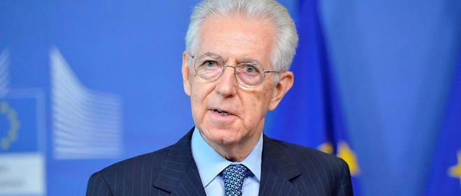 Mario Monti (ici en 2015) s'inquiète de voir son pays défier l'Union, se privant des mécanismes de protection mis au point au plus fort de la crise de l'eurozone en 2009.