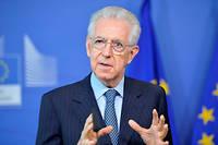 Mario Monti (ici en 2015) s'inquiète de voir son pays défier l'Union, se privant des mécanismes de protection mis au point au plus fort de la crise de l'eurozone en 2009.  ©Dursun Aydemir / Anadolu / AFP