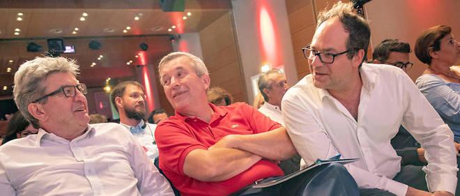 Jean-Luc Mélenchon (à gauche) et Emmanuel Maurel (à droite) devraient présenter une liste commune aux européennes. Image d'illustration.