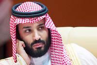 Le prince héritier d'Arabie saoudite, Mohammed ben Salmane.  ©BANDAR AL-JALOUD