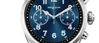 Une montre connectée qui ressemble à s'y méprendre à une montre classique.