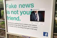 Pousse par un durcissement des pouvoirs publics, notamment en Europe, Facebook entreprend de lutter contre la propagation des fake news.