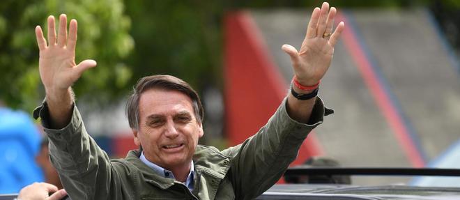 Jair Bolsonaro, nouveau président d'extrême droite élu au Brésil.