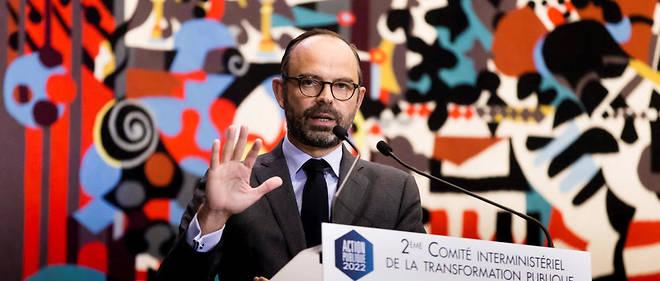 """Édouard Philippe a dévoilé lundi une série d'annonces """"transversales"""" sur la réforme de l'État."""