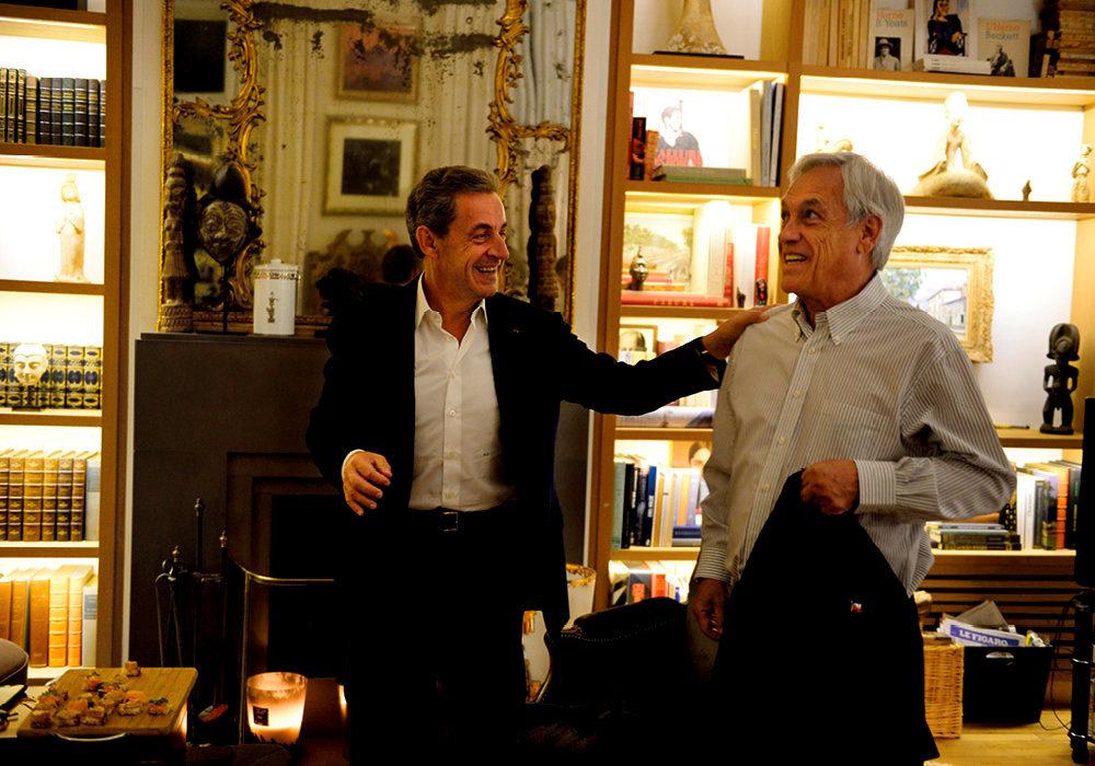 Rencontre. A son domicile, le 6octobre. «J'ai dîné avec le nouveau président chilien, Sebastian Piñera [photo]. On n'imagine pas le souffle de ce pays latino-américain, où des centaines de projets sont en train de voir le jour.»