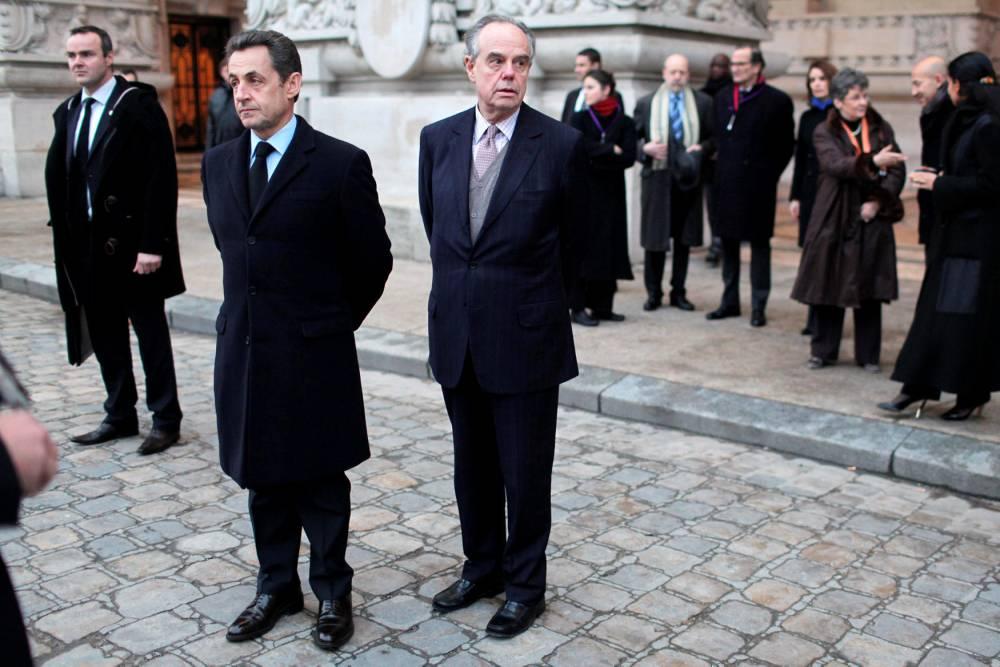 Mitterrand, Sarkozy © THIBAULT CAMUS AFP