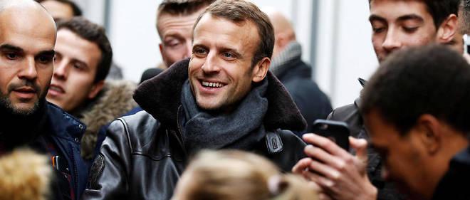 Emmanuel Macron à Honfleur le 1er novembre.