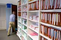Les nombreux dossiers du tribunal pour enfants de Mulhouse, ici en juin 2013 (photo d'illustration).