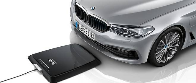 BMW charge par induction