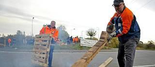 Après une semaine de blocage, les 281 salariés ont repris le travail lundi à l'aciérie de Saint-Saulve, spécialisée dans les aciers spéciaux et créée en 1975 par Vallourec.  ©FRANCOIS LO PRESTI