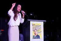À 29 ans, Alexandria Ocasio-Cortez est la benjamine du Congrès.