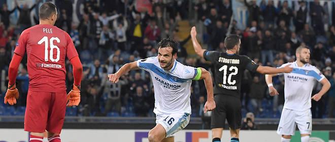 Marco Parolo et la Lazio boutent l'OM hors de la compétition.