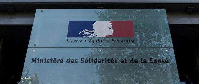 Le ministère de la Santé et des Solidarités (photo d'illustration).