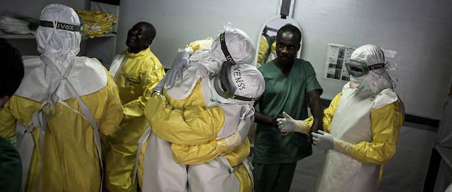 Le personnel sanitaire qui lutte contre Ebola rencontre des difficultés accrues dans un environnement de guerre.