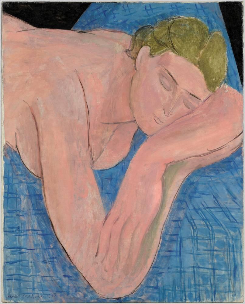 """Le rêve"", d'Henri Matisse ©  Succession H. Matisse"