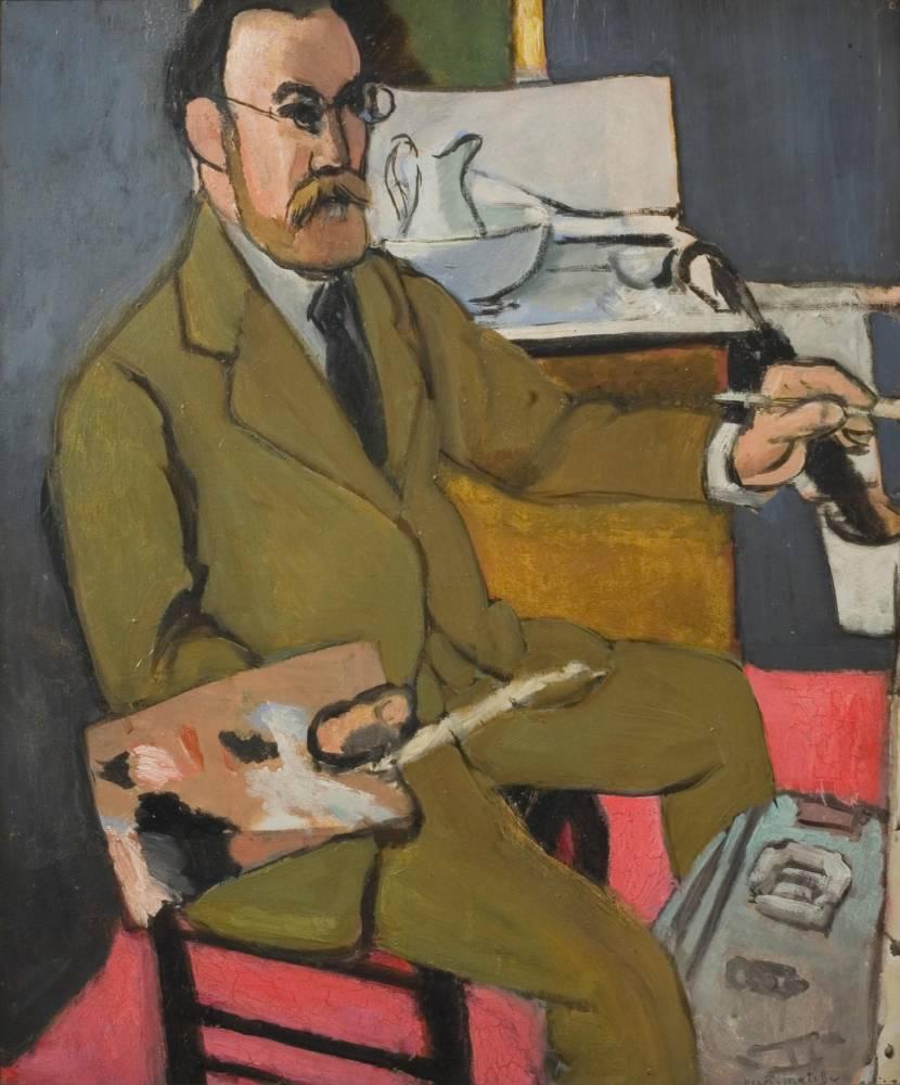 Autoportrait d'Henri Matisse ©  Michael Matisse / Succession H. Matisse