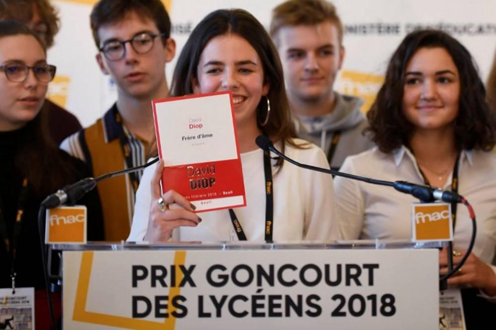 FRANCE-BOOKS-AWARD-HIGH-SCHOOL-GONCOURT-LITERATURE © DAMIEN MEYER