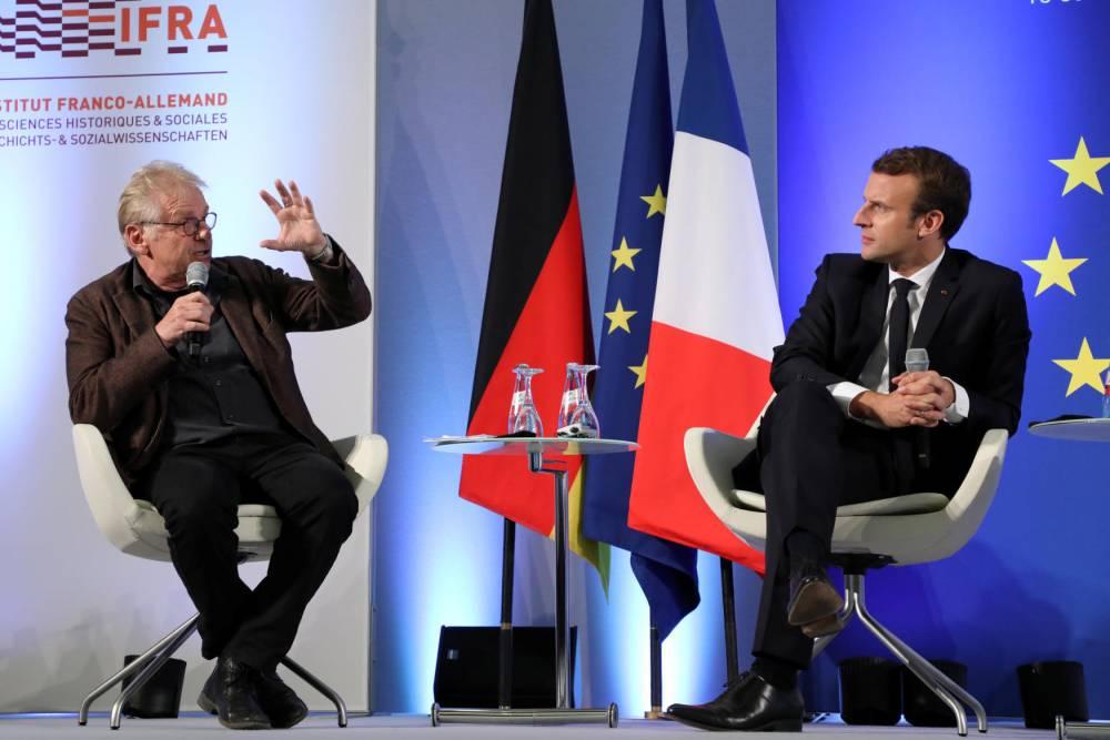 Emmanuel Macron © LUDOVIC MARIN AFP