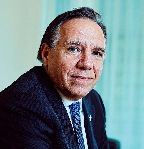 François Legault, Premier ministre du Québec.