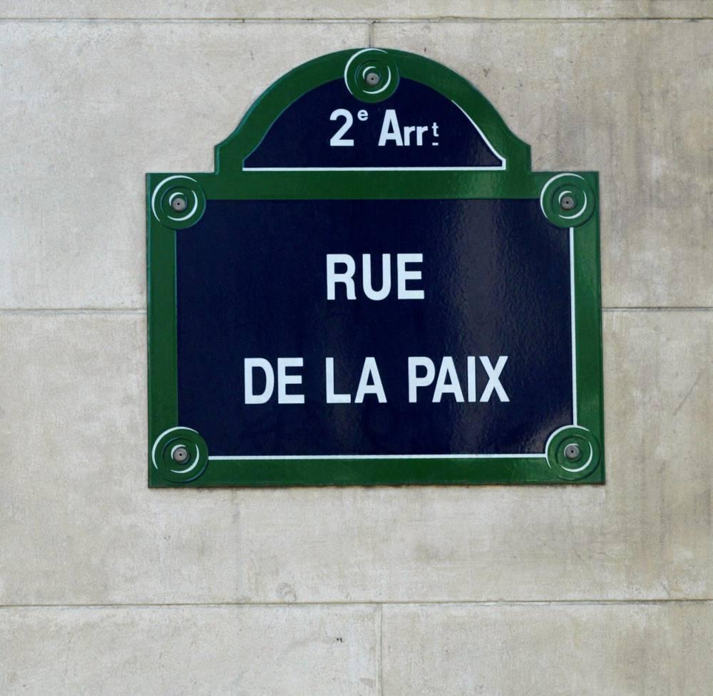 Rue de la Paix ©  JACQUES DEMARTHON / AFP