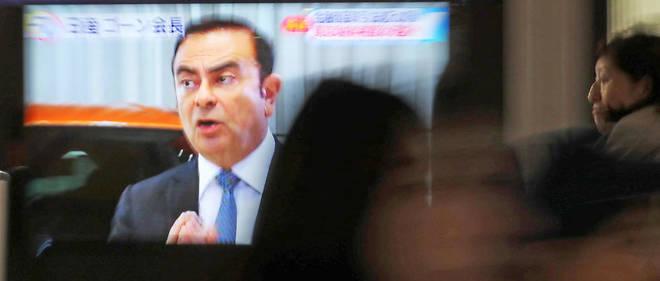 Carlos Ghosn a été arrêté lundi à Tokyo pour des soupçons de malversations après une enquête interne de Nissan.