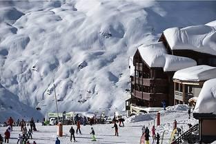 Val Thorens detient a nouveau le titre de << meilleure station du monde >> et de << meilleure station de France >> d&#039;apres les World Ski Awards.   (C)PHILIPPE DESMAZES