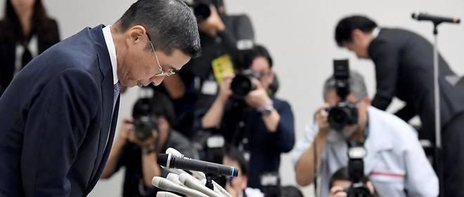 Hiroto Saikawa avait dû présenter cet été des excuses publiques pour les défauts de contrôle sur les Nissan alors que Carlos Ghosn passait ses vacances sur une île japonaise.
