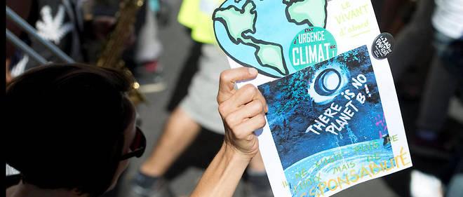 Le 8 septembre dernier, des milliers de personnes se rassemblaient en France lors d'une marche pour le climat.