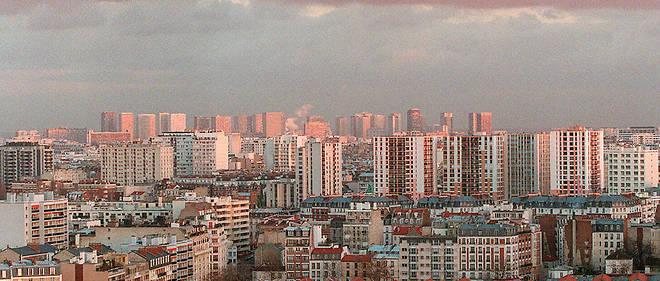 Vue du 13e arrondissement de Paris (photo d'illustration).