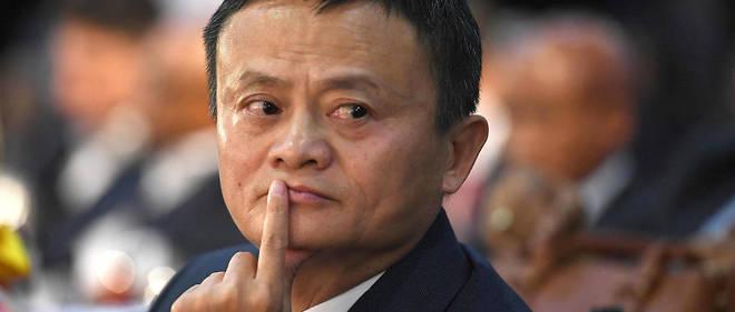 Jack Ma n'avait pas indiqué qu'il appartenait au Parti lors de l'introduction d'Alibaba à la Bourse de New York, en 2014.