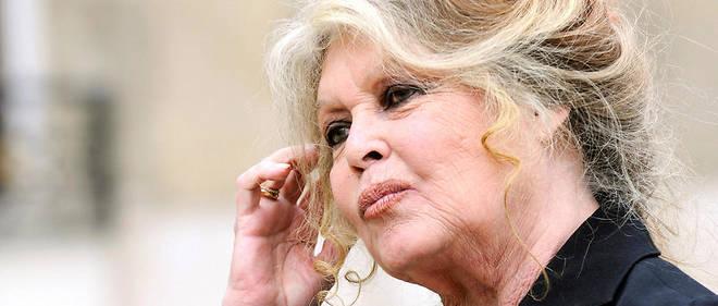 Brigitte Bardot a publié sur son compte Twitter une photographie où elle porte la fameuse chasuble, les deux pouces levés, à côté de sa Renault 4L blanche garée à l'entrée de La Madrague, sa maison de Saint-Tropez.