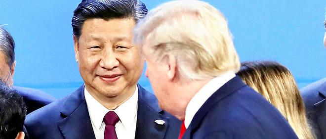 """Trump et Xi le 30 novembre pour la """"photo de famille"""". Les deux hommes avaient intérêt à faire baisser la tension, pour des raisons de politiques intérieures."""