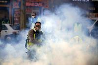 Le 2 décembre à Toulouse.  ©Alain Pitton / NurPhoto / AFP