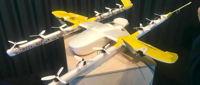 James Ryan Burgess, PDG de Wing, a annoncé l'arrivée du service de livraison par drone à Slush, événement sur les nouvelles technologies, le 4 décembre.