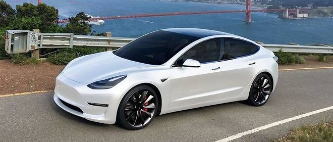 Tesla Model 3: elle débarque en Europe en février