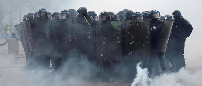 Pour le 8 décembre, le nombre de policiers mobilisés sera doublé par rapport à celui de samedi dernier.